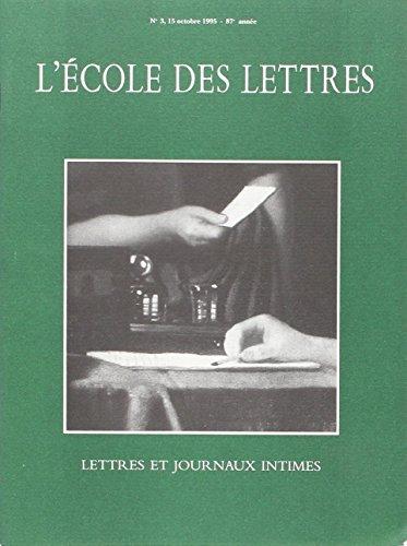 9782211111515: Lettres et Journaux Intimes Rev (Revue)