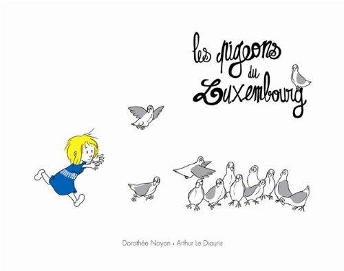 9782211217200: Les pigeons du Luxembourg