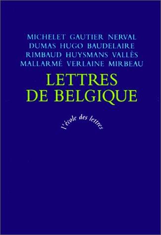 9782211401104: Lettres de belgique