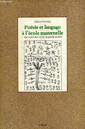 9782211859288 Poesie Et Langage A Lecole Maternelle Une