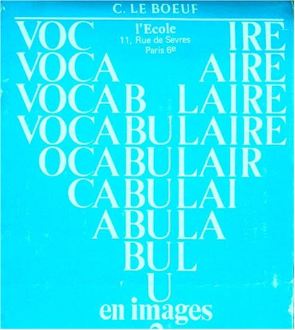 9782211971287: Vocabulaire en images, tome 2
