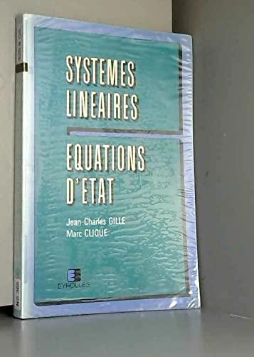 9782212002379: Systemes lineaires. équations d'etat