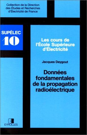 9782212016390: Donn�es fondamentales de la propagation radio�lectrique