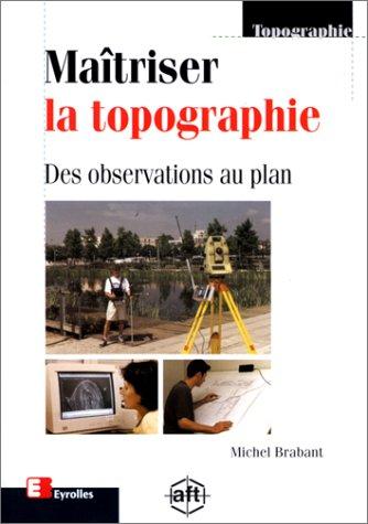 9782212022919: Ma�triser la topographie