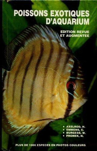 9782212045598: Poissons exotiques d'aquarium