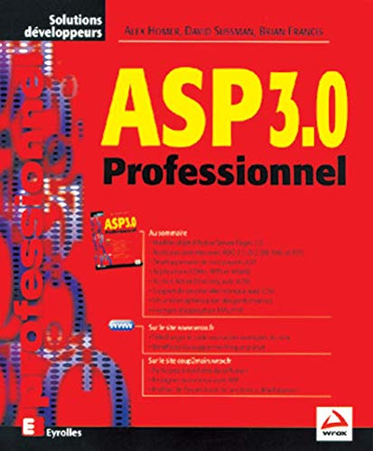 9782212091519: ASP 3.0. Professionnel