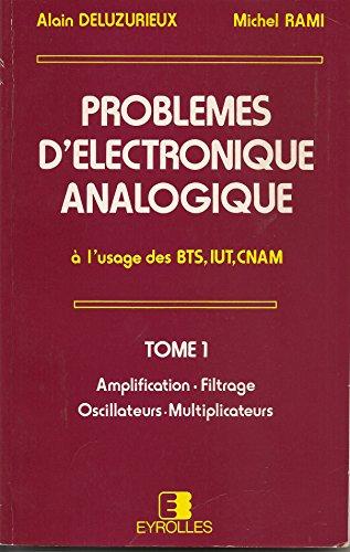 9782212095432: Prob d electron anal t1
