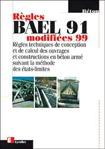 9782212100235: Règles Bael 91 modifiée 99