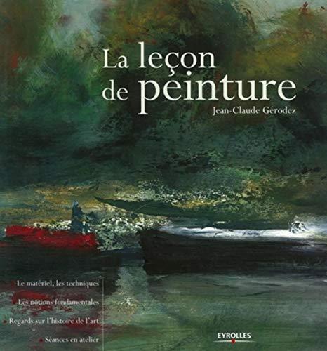 La leçon de peinture: Jean-Claude Gerodez