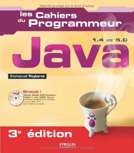 9782212119169: Java 1.4 et 5.0 (1Cédérom)