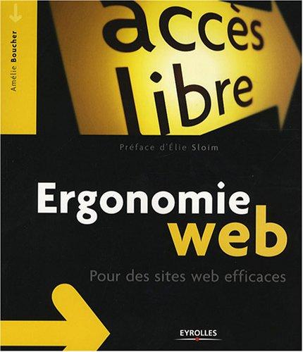 9782212121582: Ergonomie web: Pour des sites web efficaces