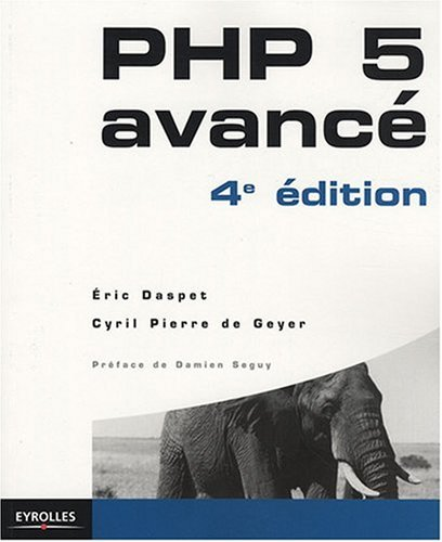 9782212121674: PHP 5 avancé
