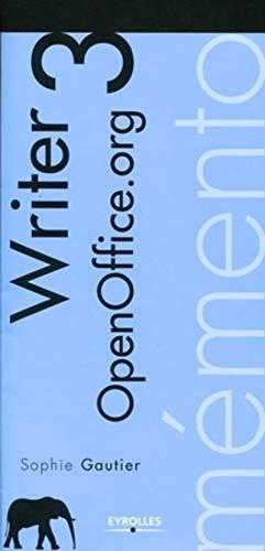 9782212125337: M�mento OpenOffice Writer 3