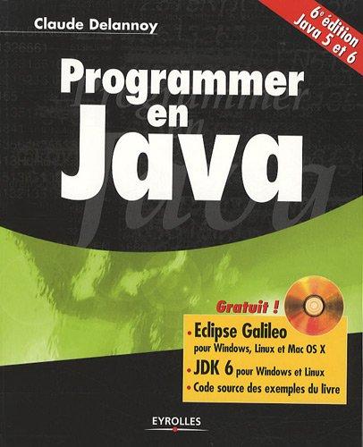 9782212126235: Programmer en Java (1Cédérom)