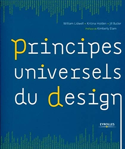 Principes universels du design (French Edition): Jill Butler