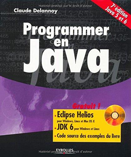 9782212128666: Programmer en Java- (Avec CD-rom)