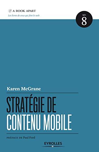 STRATÉGIE DE CONTENU MOBILE: MC GRANE KAREN