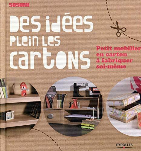 9782212139228: Des idées plein les cartons petit mobilier en carton à fabriquer soi même