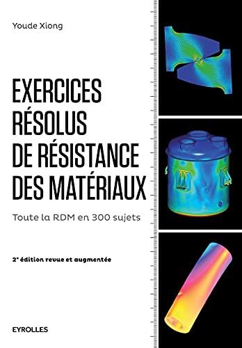9782212143195: Exercices résolus de résistance des matériaux