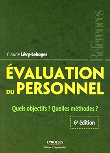 9782212538632: Evaluation du personnel (French Edition)