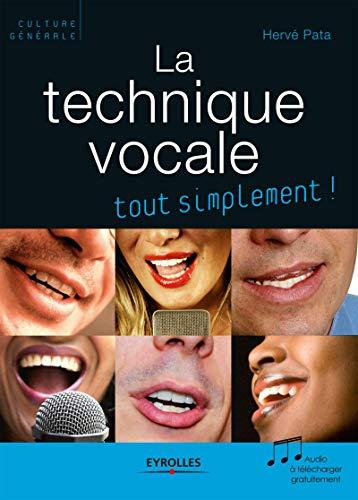 9782212543902: La technique vocale (1Cédérom)
