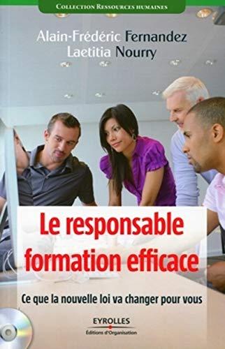 """""""le responsable formation efficace ; ce que la nouvelle loi va changer pour vous"""": ..."""