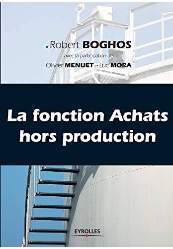 la fonction achat hors production: Christian Boghos, Luc Mora, Olivier Menuet, Robert Boghos