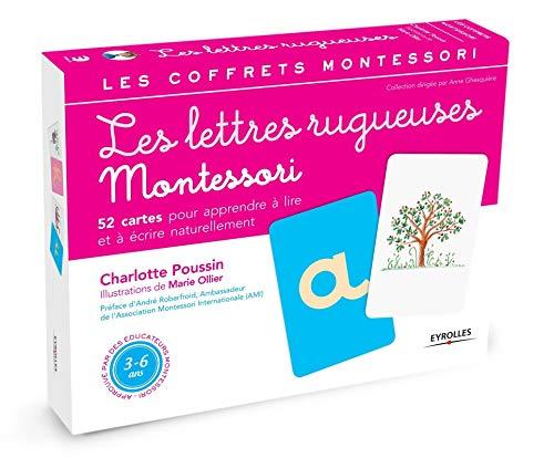 9782212556773: Les lettres rugueuses : Pour apprendre à lire et à écrire naturellement: 1 (Les coffrets Montessori)
