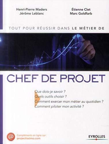 MÉTIER DE CHEF DE PROJET (LE): GOLDFARB MARC