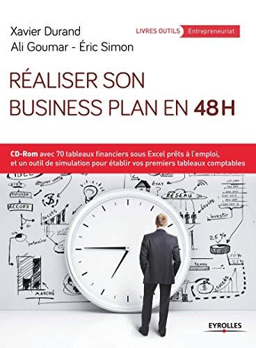 9782212562088: Réaliser son business plan en 48 heures : CD-ROM avec 70 tableaux financiers sous Excel prêts à l'emploi