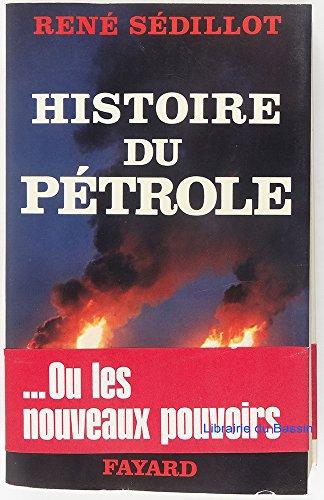 9782213000954: Histoire du pétrole