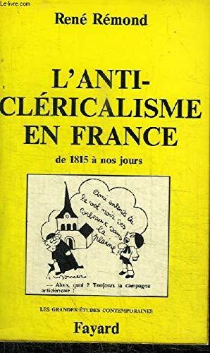 9782213003221: L'Anticléricalisme en France