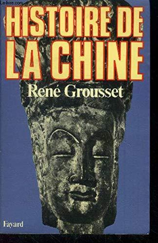 9782213004174: Histoire de la Chine (Les Grandes études historiques)