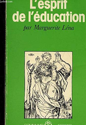 9782213006987: L'esprit de l'education (Communio) (French Edition)