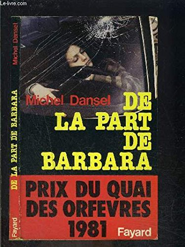9782213009322: De la part de Barbara (French Edition)