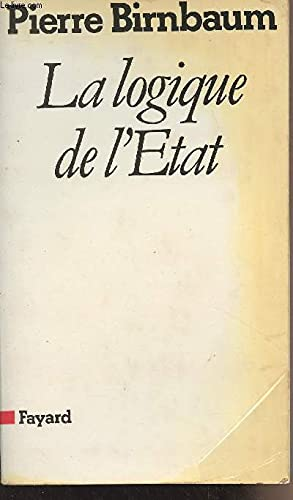 9782213011134: La logique de l'etat 112897