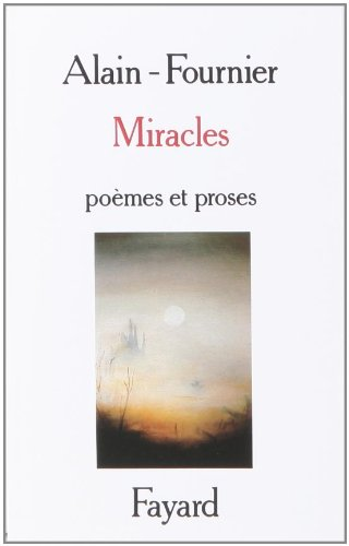 9782213017495: Miracles : Po�mes et Proses