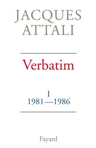 9782213019284: Verbatim : Tome 1, 1981-1986