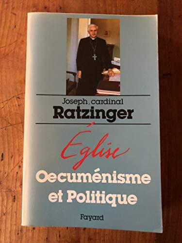 9782213020440: Eglise, œcuménisme et politique (French Edition)