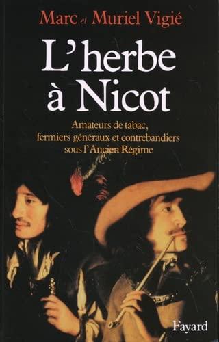 9782213022413: L'herbe à Nicot