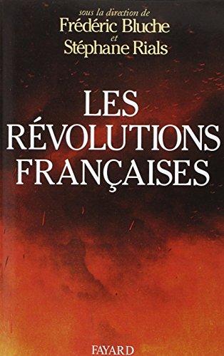 Les Révolutions françaises - Les phénomènes révolutionnaires: COLLECTIF] / BLUCHE