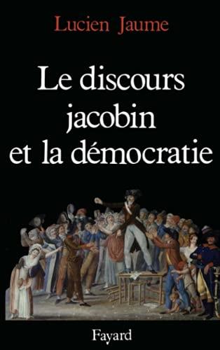 9782213022826: Le discours jacobin et la démocratie (Nouvelles études historiques)