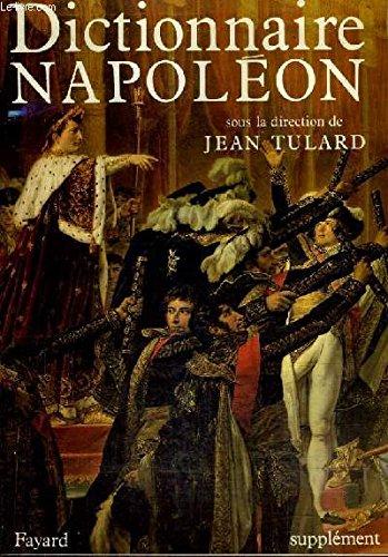 9782213022864: Dictionnaire Napoléon