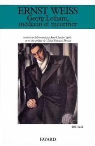 9782213023625: George Letham, médecin et meurtrier (French Edition)