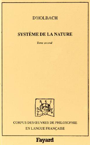 9782213026305: Système de la nature