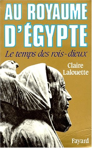 9782213026909: Au royaume d'egypte (French Edition)