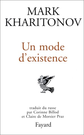 9782213031699: Un mode d'existence (French Edition)