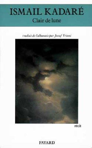9782213031750: Clair de lune : Récit (Littérature Etrangère)