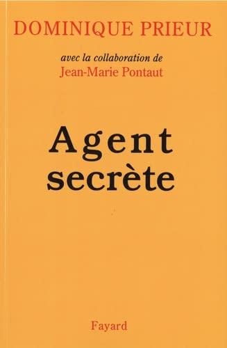 9782213592770: Agent secrète