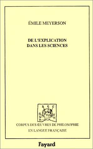 9782213593661: De l'explication dans les sciences (1921)